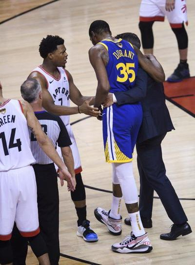 NBA FINALS: Durant has surgery for ruptured Achilles