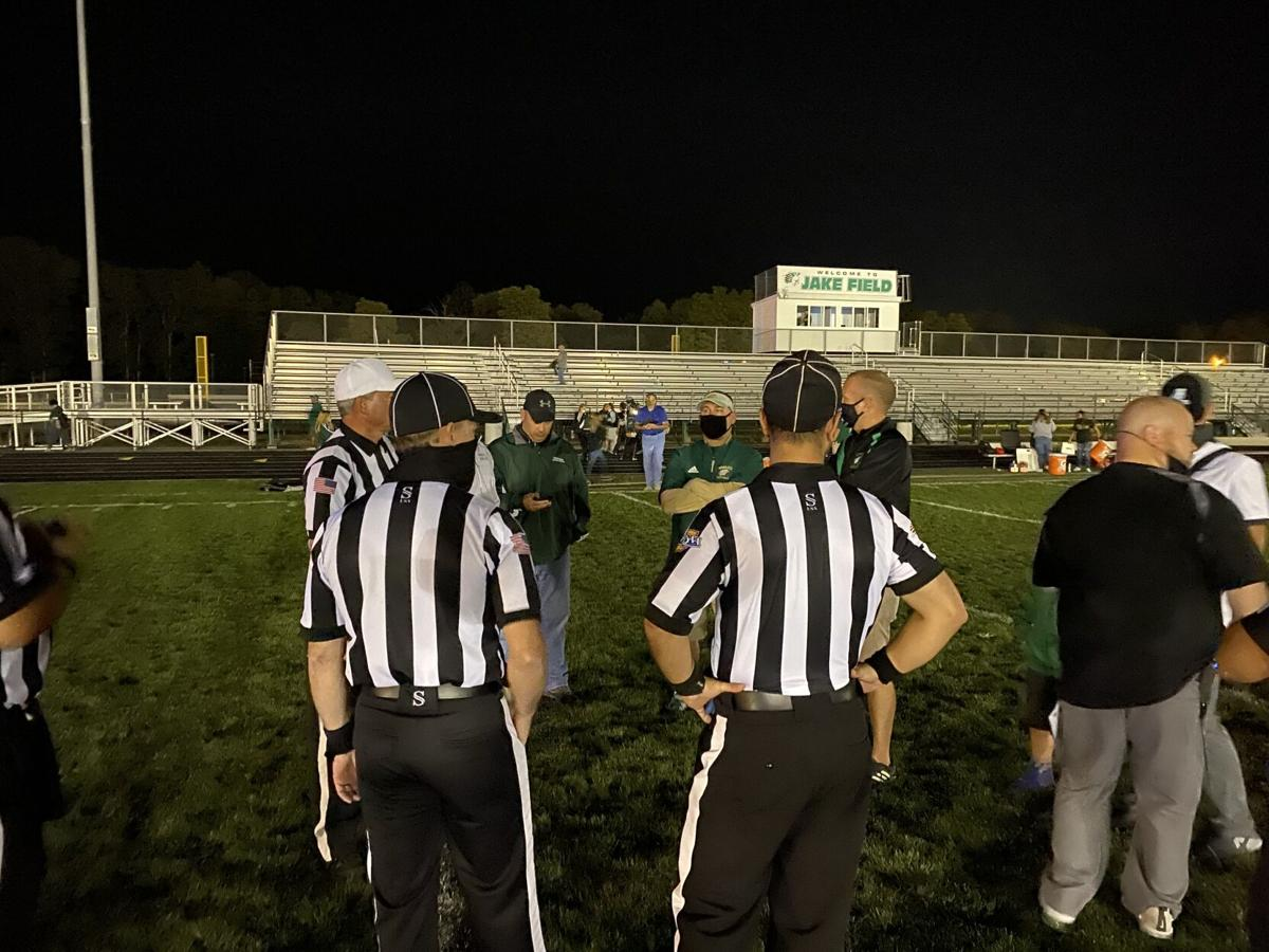 officals discussion concord wawasee football game resumption 9 11 2020