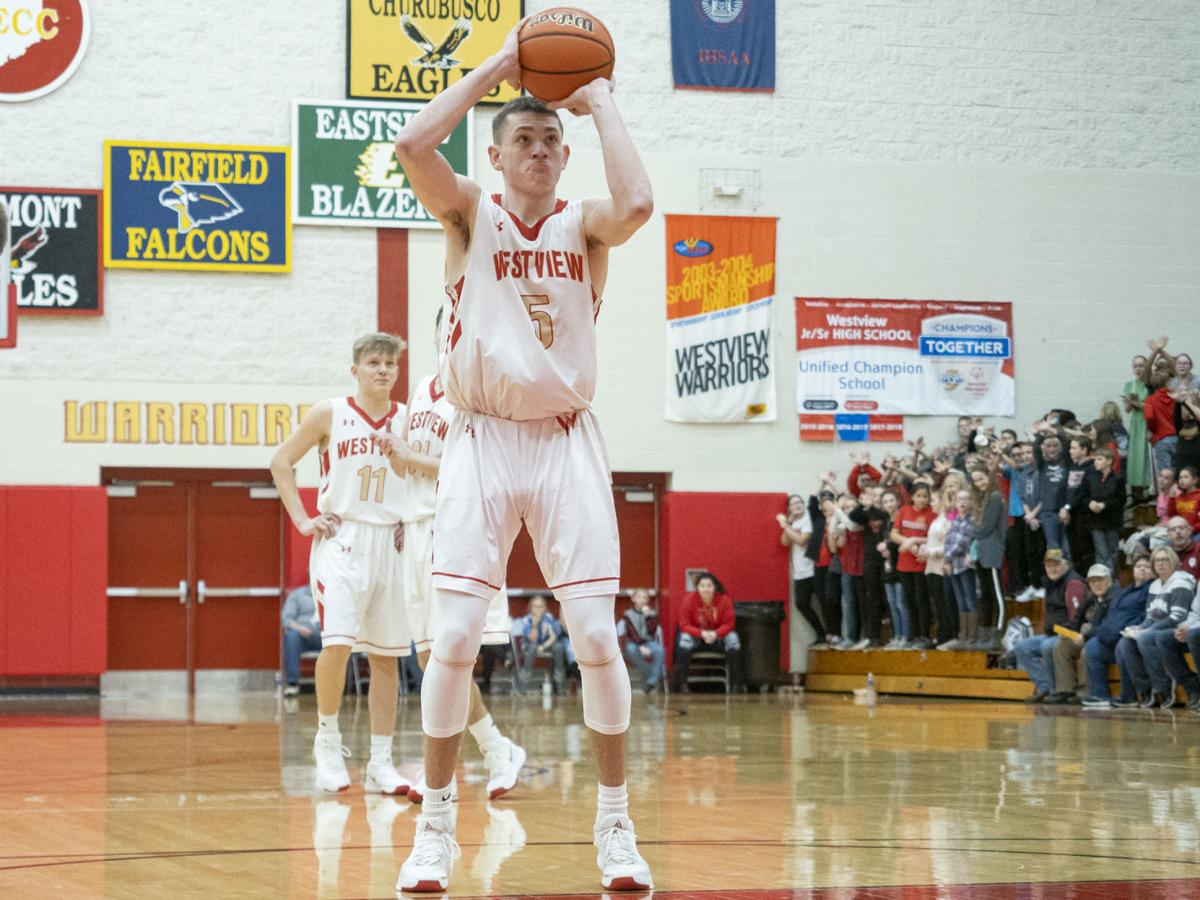 PREP BOYS BASKETBALL: Charlie Yoder becomes Westview's all-time leading scorer