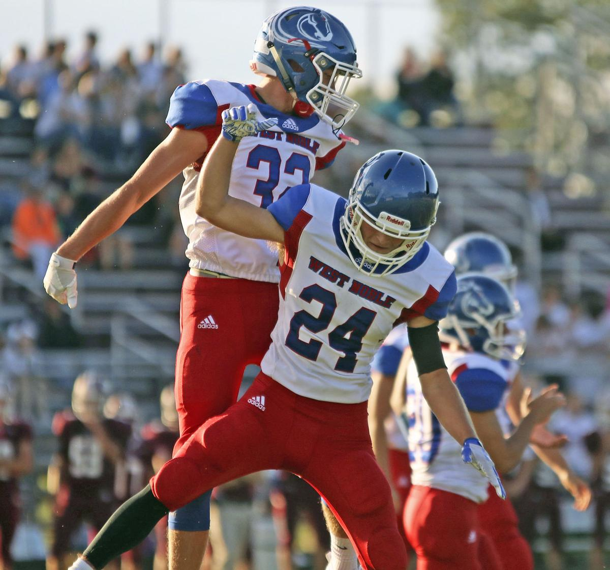 West Noble vs. Central Noble game pictures 2
