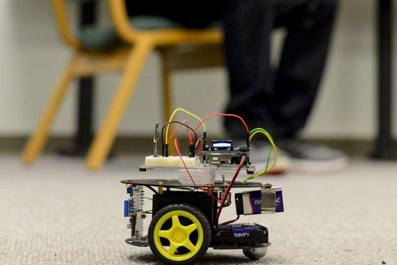 Mind Controlled Robot Wins Goshen College Robotics Show Local News