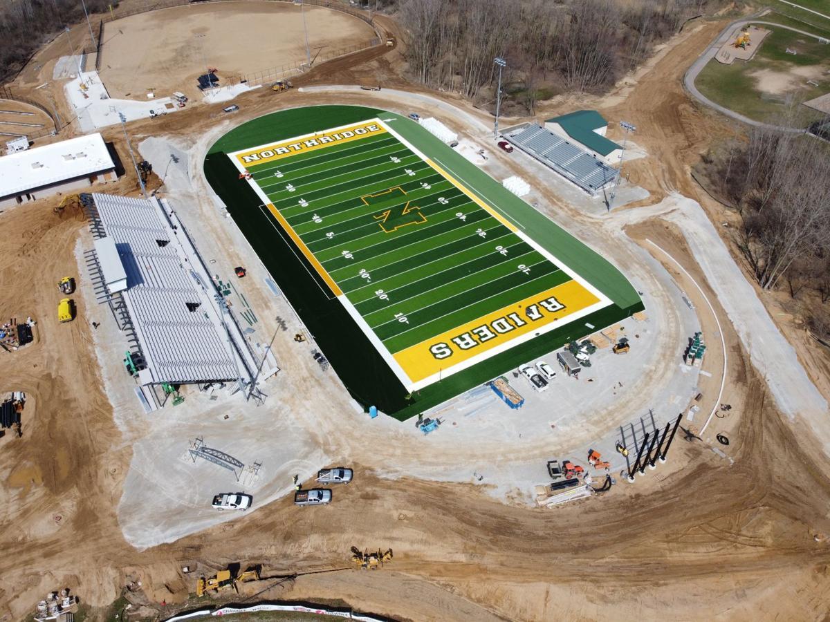 Northridge football field 4 7 2020 update
