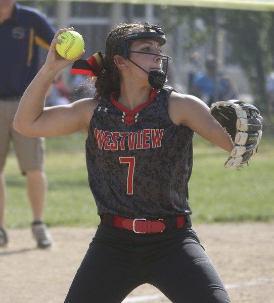 SOFTBALL: Falcons put a dent in Westview's NECC title hopes