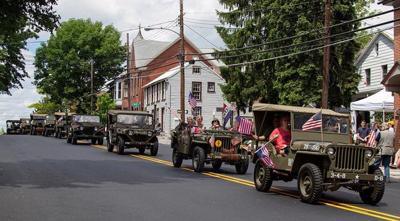 Military convoy to make stop in Goshen