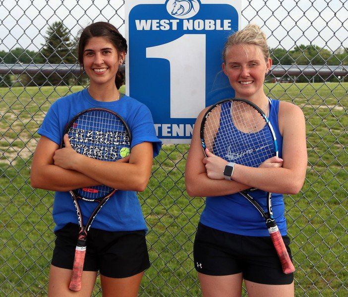 PREP GIRLS TENNIS: Kruger, Miller ready for state doubles tournament