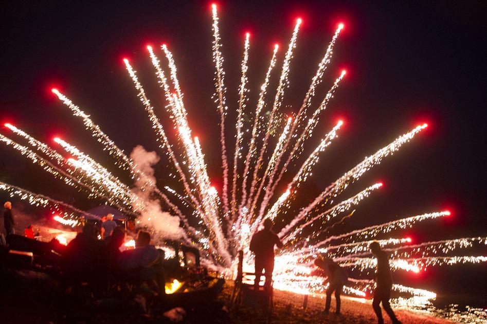 Photo Gallery: Camano Island fireworkds, 7.4.20