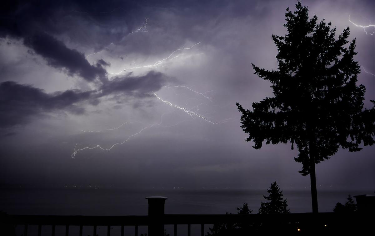 September thunderstorm from Camano