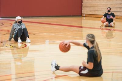 SVC Women's basketball practice 04