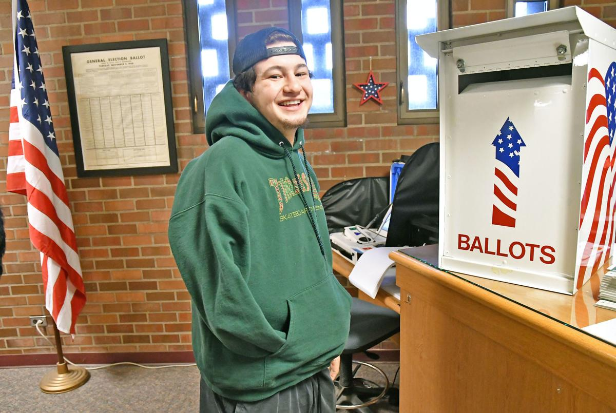 New voters keep elections office busy