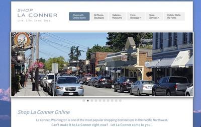 New La Conner website