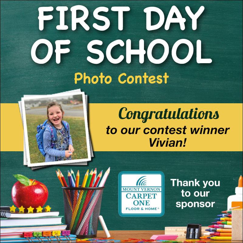 First Day of School Winner