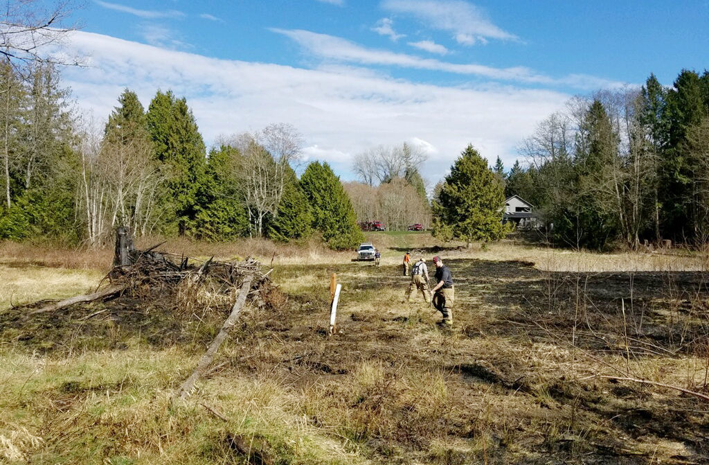 Conway brush fire