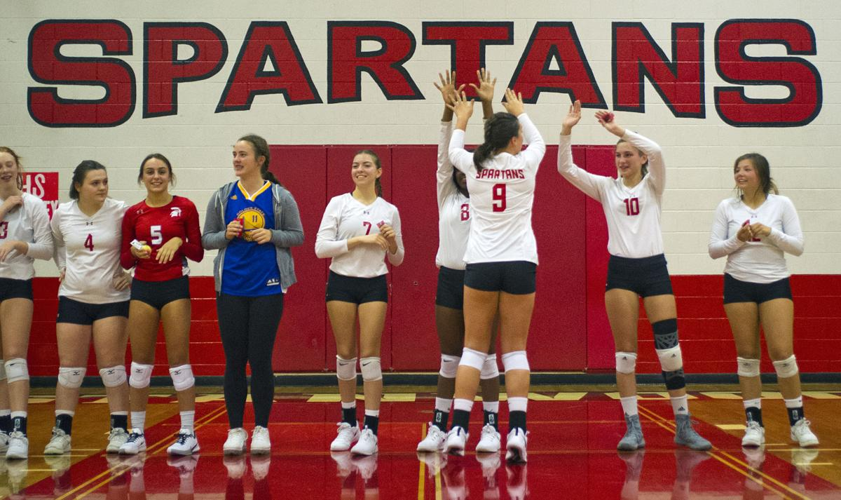Volleyball: Meadowdale at Stanwood, 9.24.19