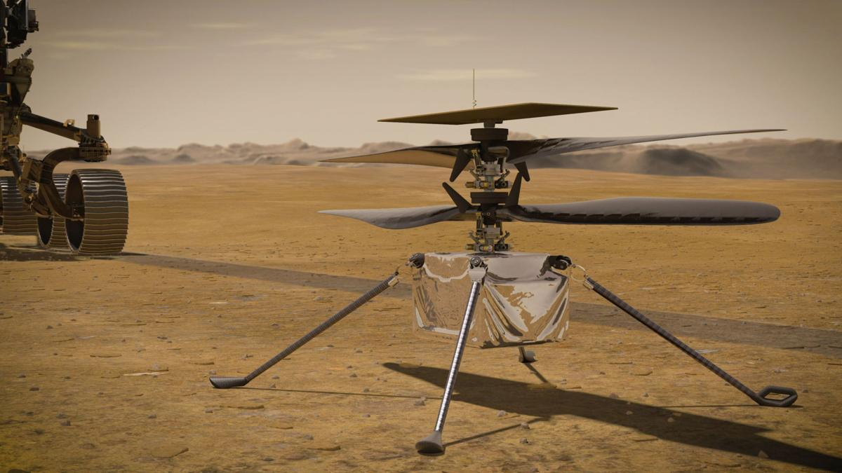Mars Landing provided by NASA