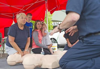 CIFR teaching CPR