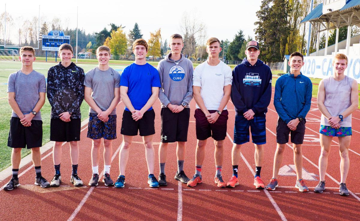 SWHS boys cross country team