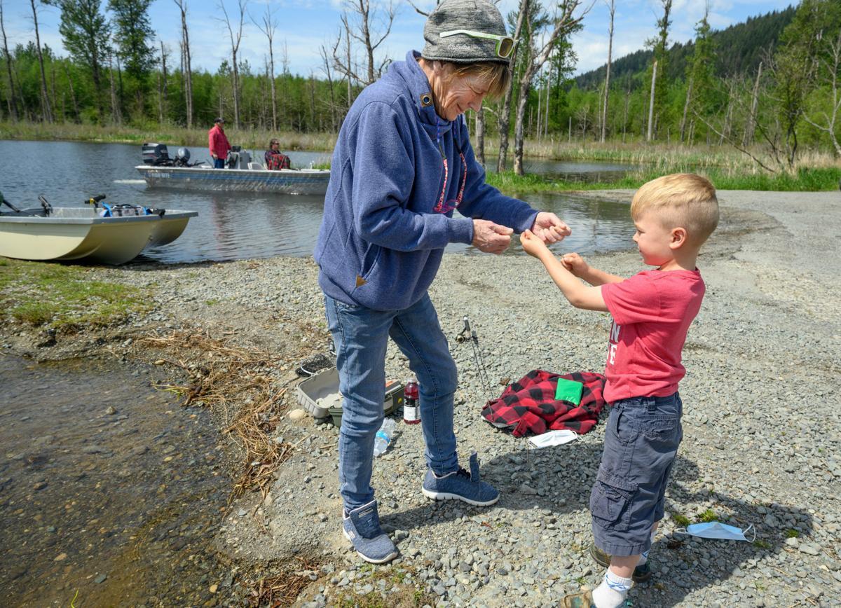 Fishing opens