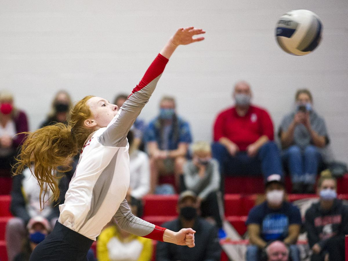 Stanwood volleyball, 10.5.21