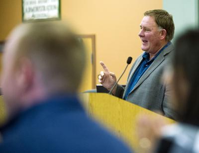 Stanwood Mayor Leonard Kelley