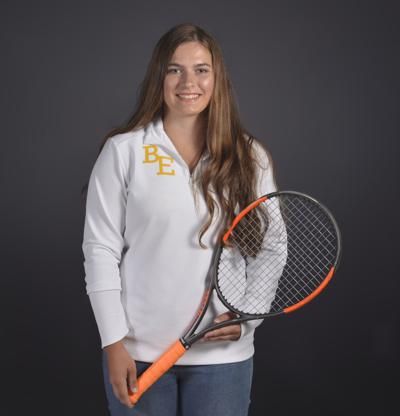 Lyndsee Fleury Tennis player of the Year