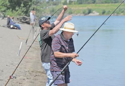 sockeye fishing
