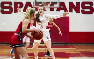 Girls Basketball: Marysville-Pilchuck at Stanwood, 2.10.20