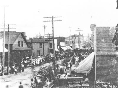 July 4 celebration 1909