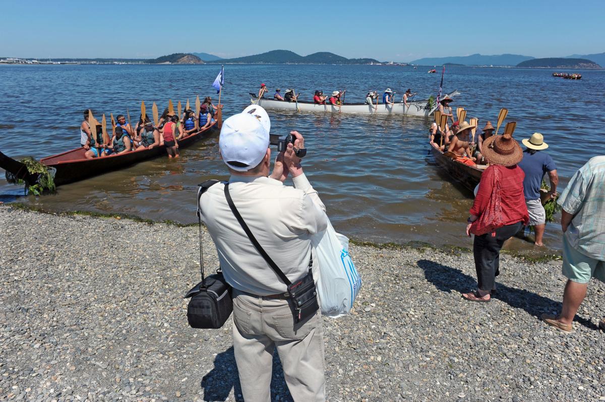 Native Canoe Family event