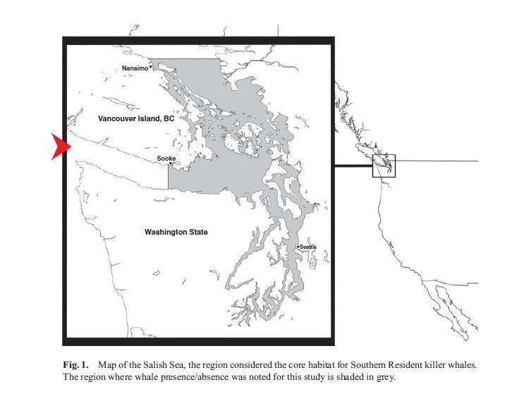 Southern Resident orca habitat