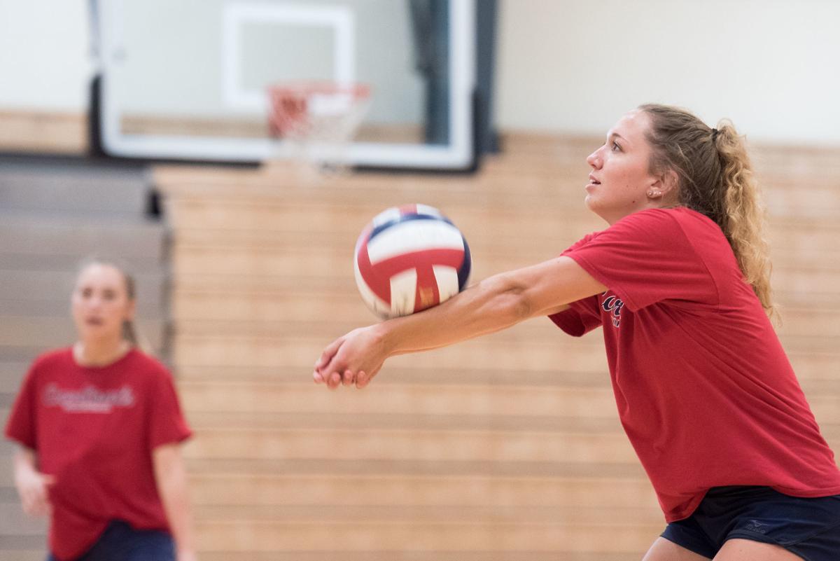 Skagit Volleyball Practice01