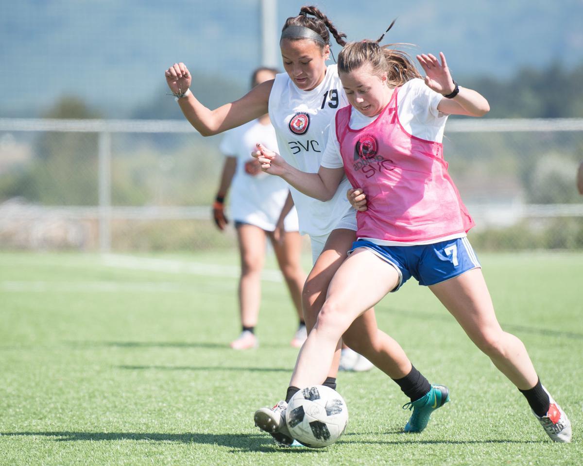 SVC Women's Soccer Practice01
