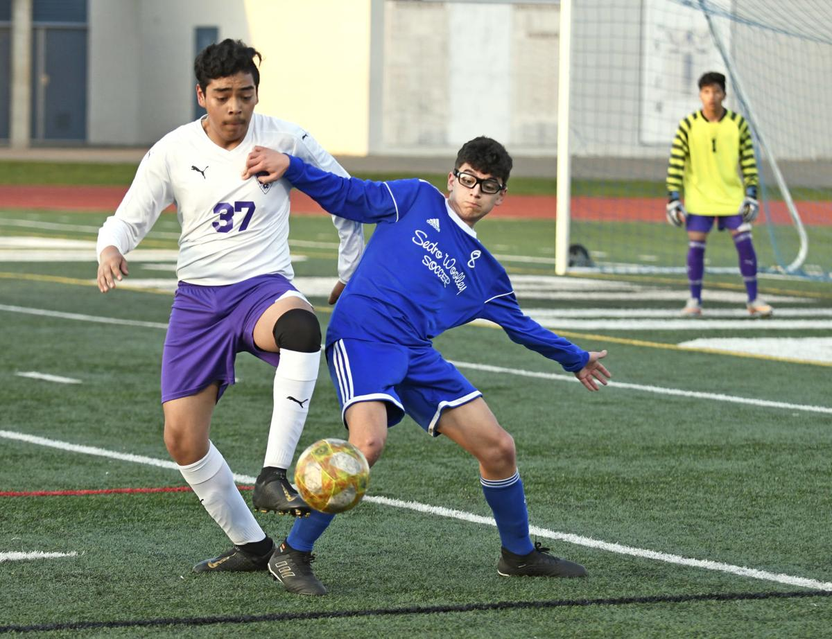 Nooksack Valley at SWHS soccer