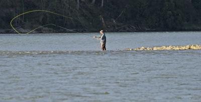 Fishermen enjoy short Skagit River steelhead season