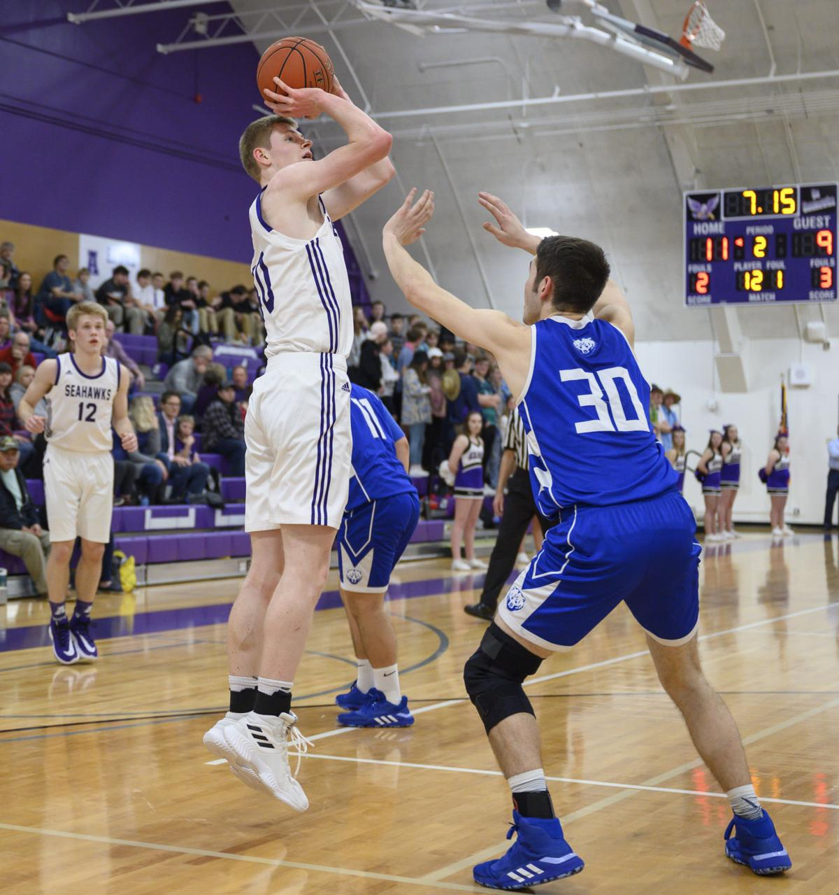 Sedro-Woolley at Anacortes boys basketball
