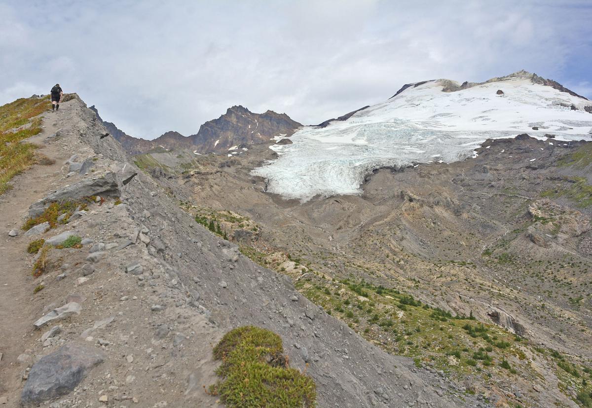 Mount Baker glaciers losing ground