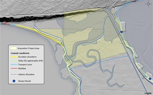 Samish Island property map