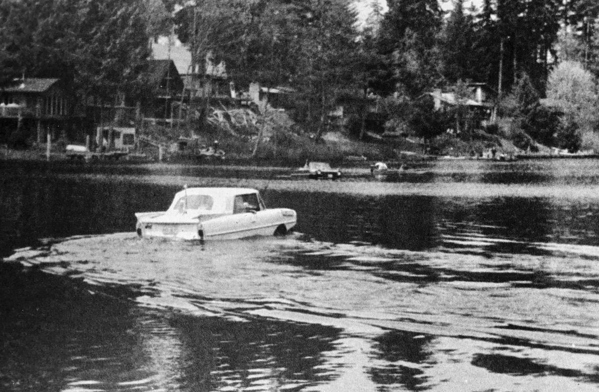 Amphibious cars