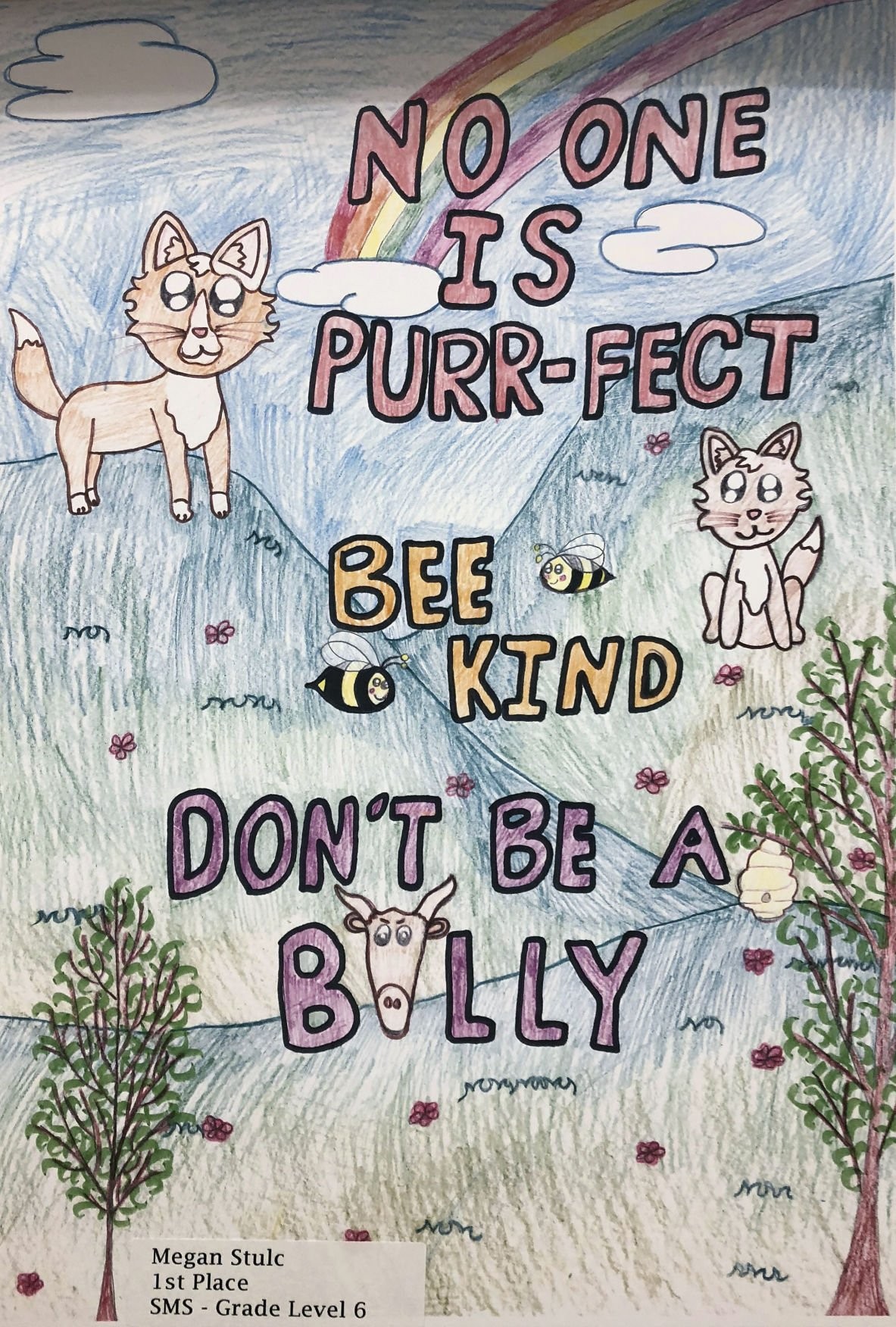 Anti-bullying poster contest winners