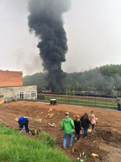 Train Derailment Virginia