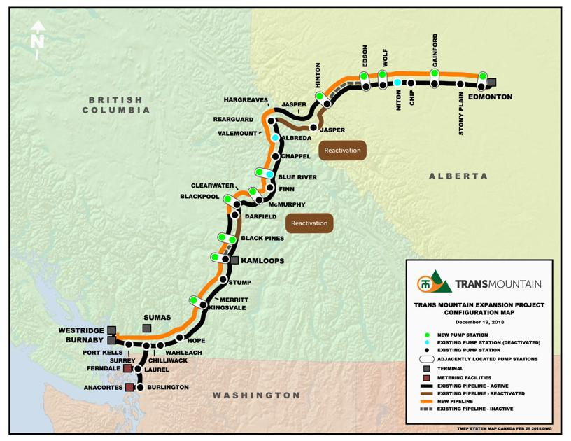 Trans Mountain pipeline expansion again on the horizon
