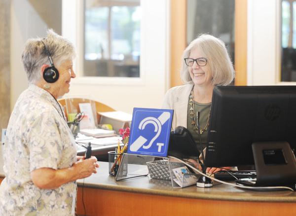 Loop brings hearing to life in Burlington library