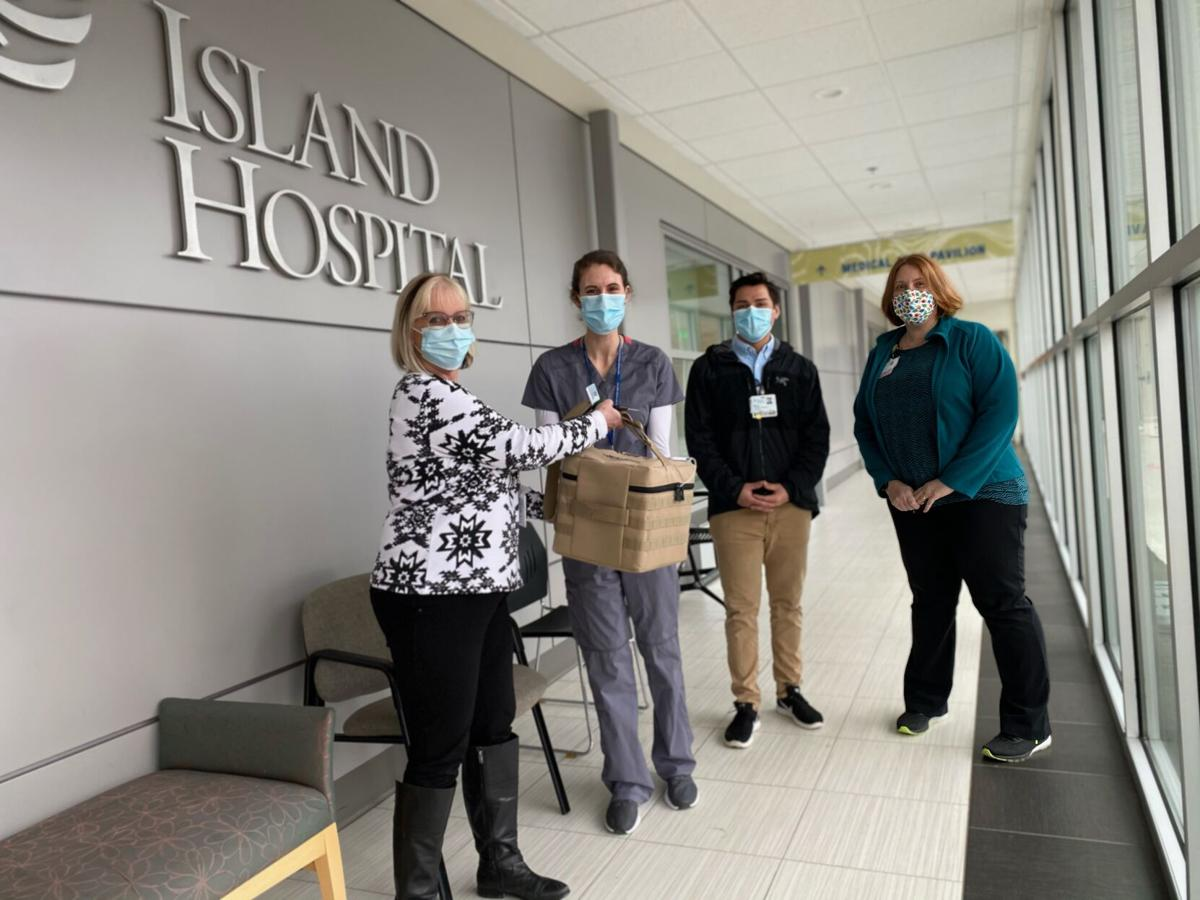 Island Hospital receives first doses of COVID-19 vaccine