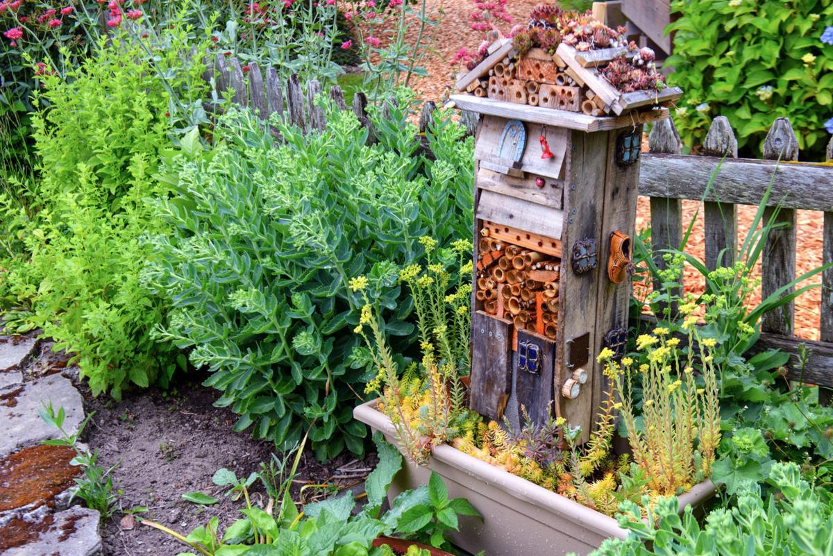 ask the master gardener building a wildlife habitat garden home although it doesn t have to be this elaborate adding a place for insects to nest is a great way to turn your garden into something more than a pretty bed