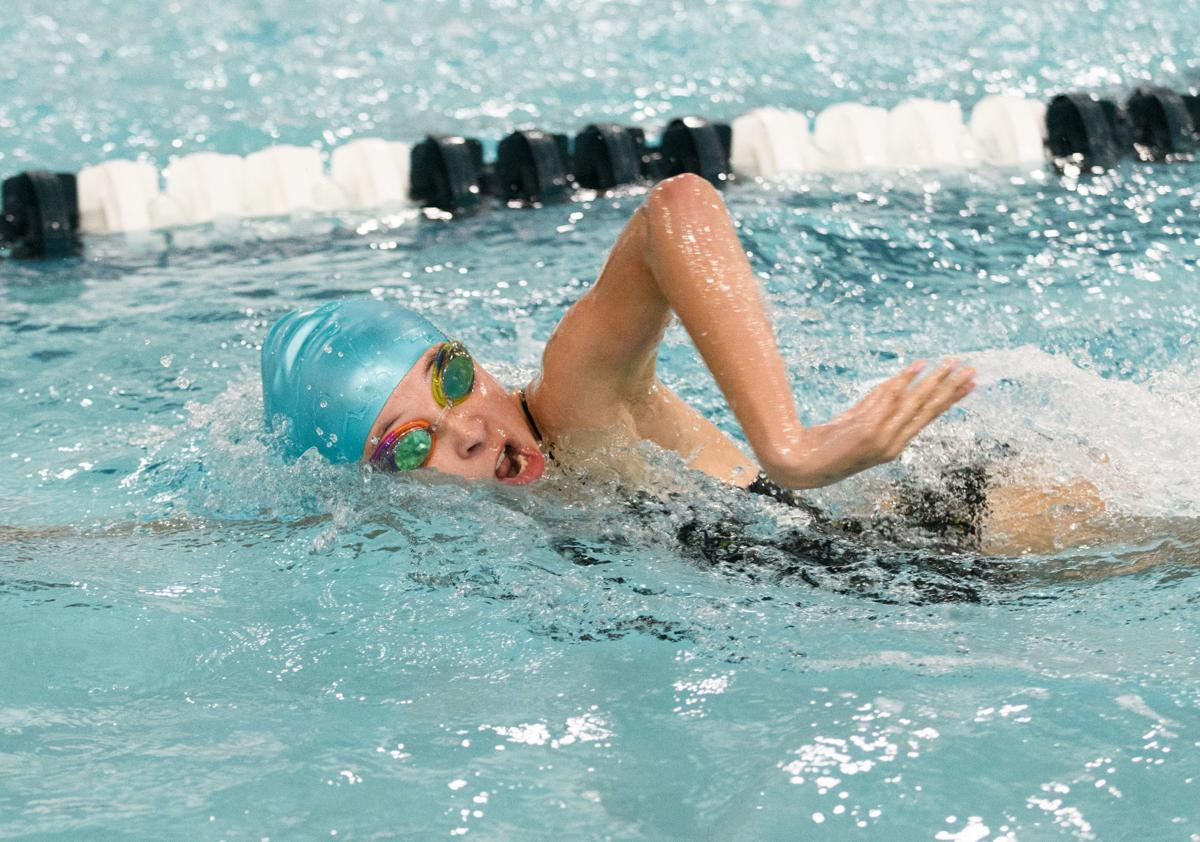 Anacortes and BEHS girls swimming