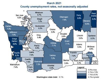Unemployment March 2021