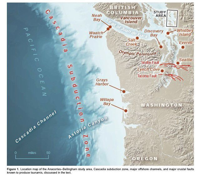 Skagit County using new maps to prepare for tsunamis | News ... on