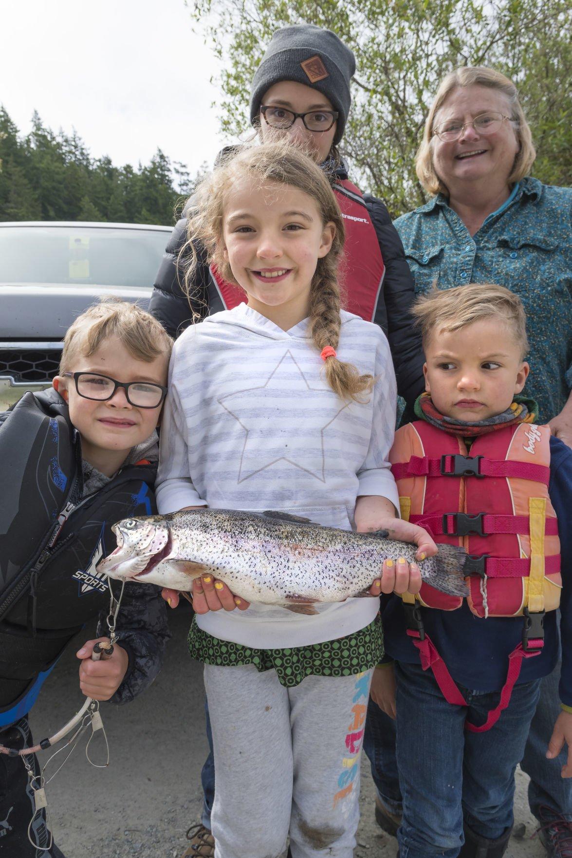 Kids Fishing Derby at Heart Lake