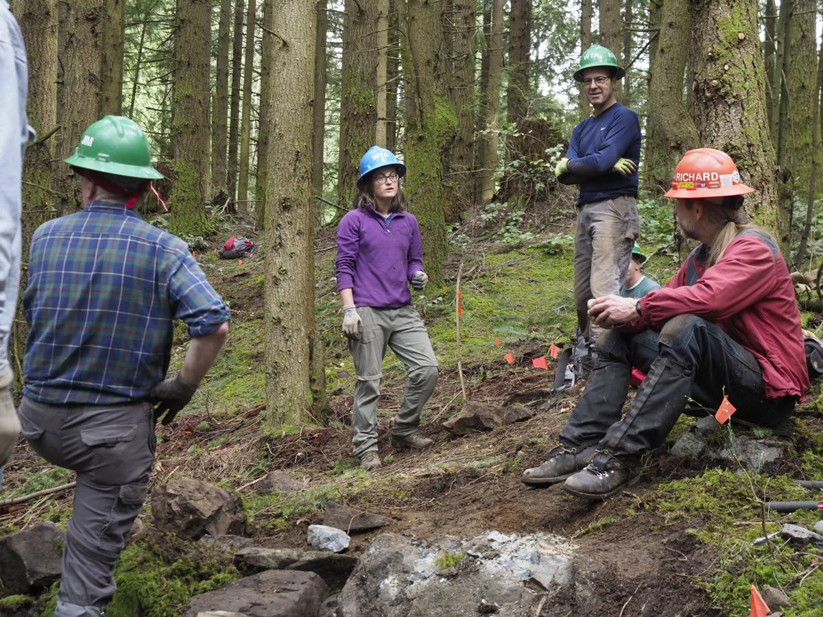 WTA Trail Maintenance at Oyster Dome