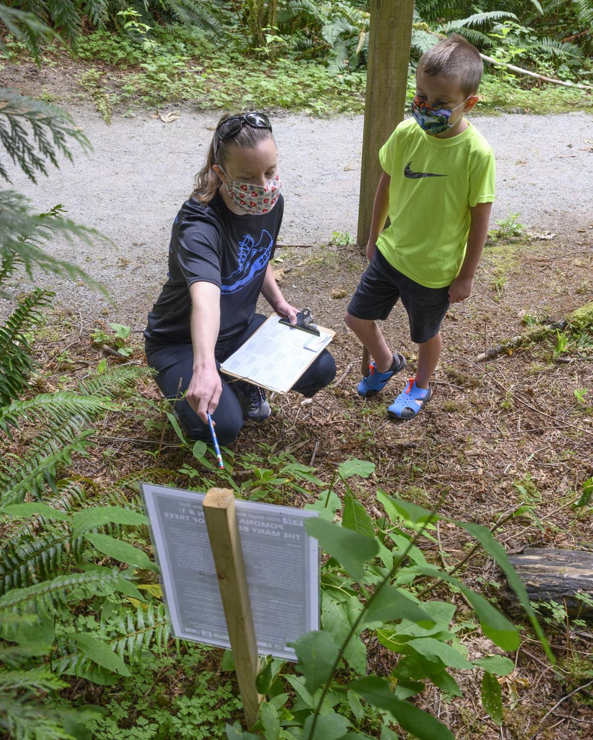Letterboxing trails