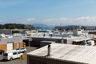 Hospital roof